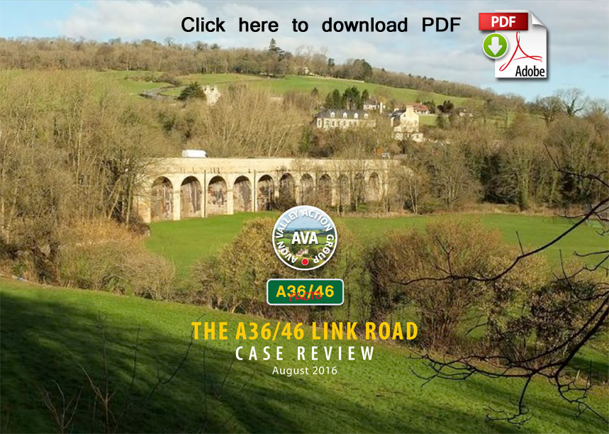 Policy Case Review for A36 A46 Link Road Bath Somerset